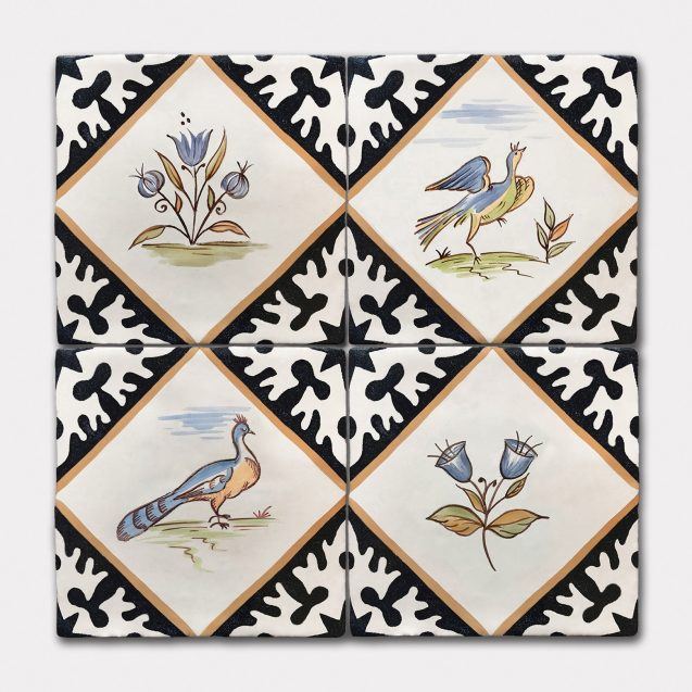 Golden Age of Delft | Hand Painted Tiles