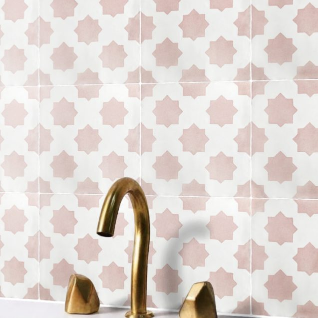 Cosmos | Hand Painted Tiles