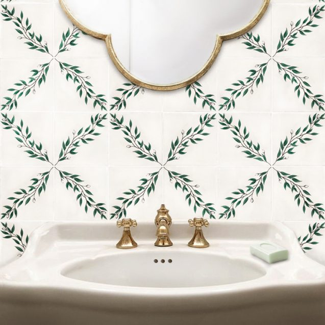 Floreale | Hand Painted Tiles