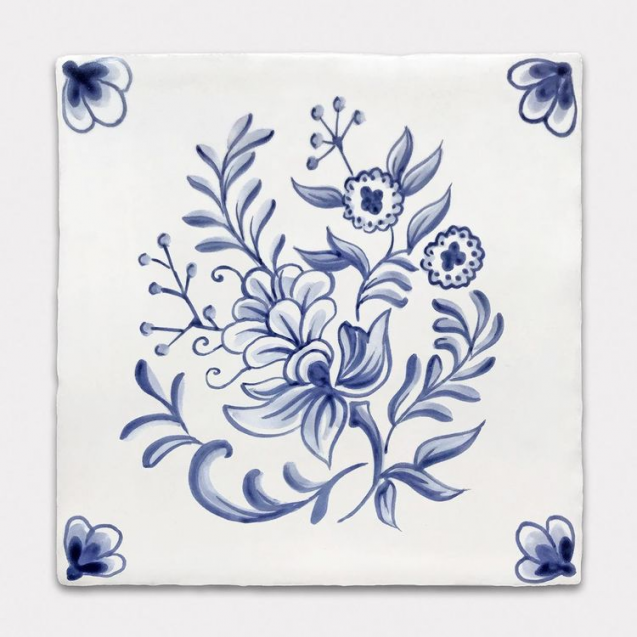 bespoke hand painted tiles delft